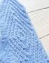 Mittens Miracle Blue - varezhki 68  70x90