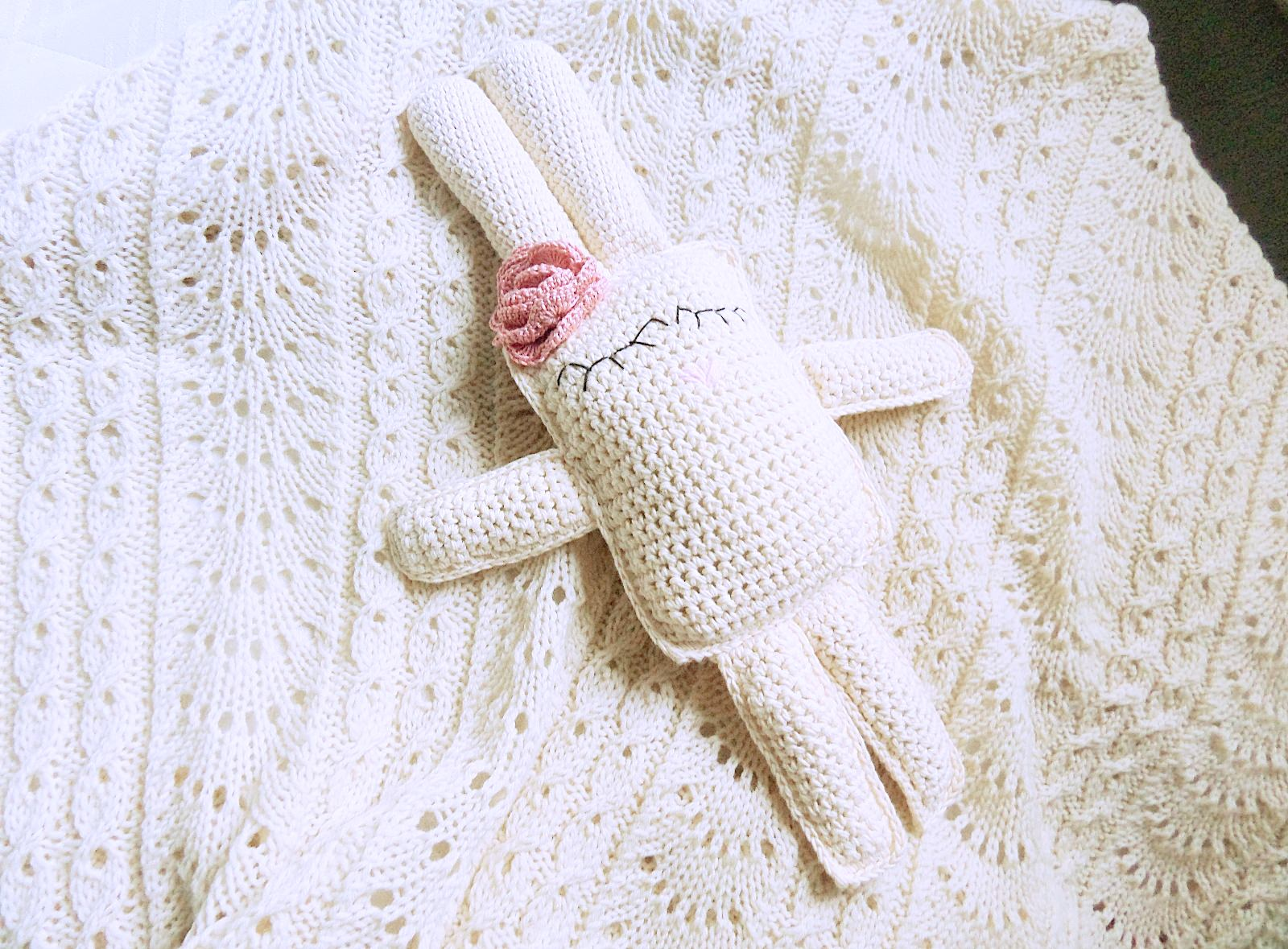 Knitted toy Bunny - PLED 273