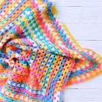 Knitted baby blanket - PLED 282 150x150