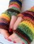 Mittens Multicolor - mitenki 74 70x90