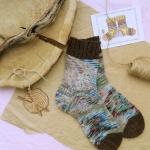 Hand knitting socks S-02 - nosochki 28 150x150