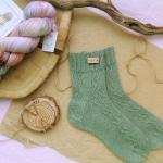 Hand knitting socks S-05 - nosochki 35 150x150