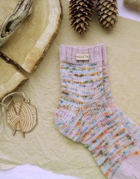 Hand knitting socks S-03 - nosochki 49 290x370
