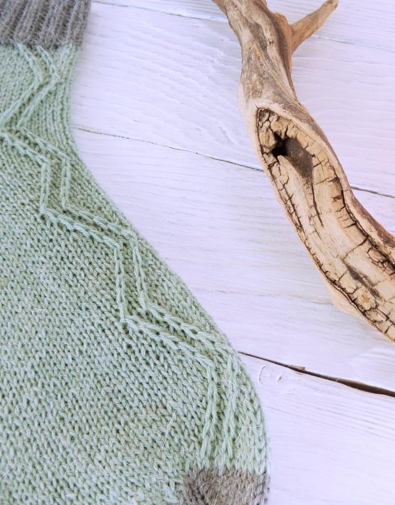 Hand knitting socks S-05 - nosochki 57 555x710
