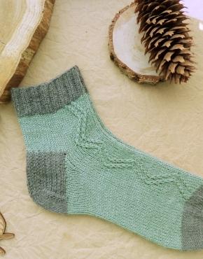 Hand knitting socks S-05 - nosochki 59 290x370