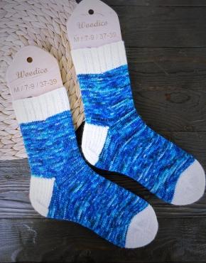 Hand knitting socks S-02 - nosochki 60 290x370