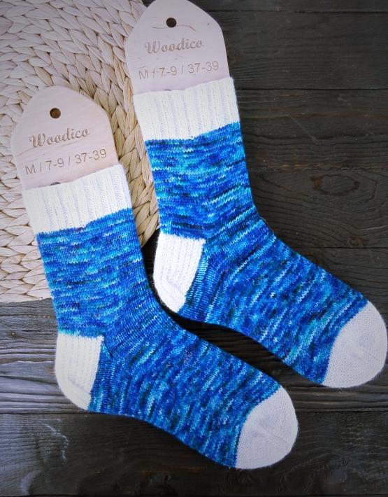 Hand knitting socks S-02 - nosochki 60 555x710