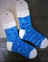 Hand knitting socks S-02 - nosochki 60 70x90