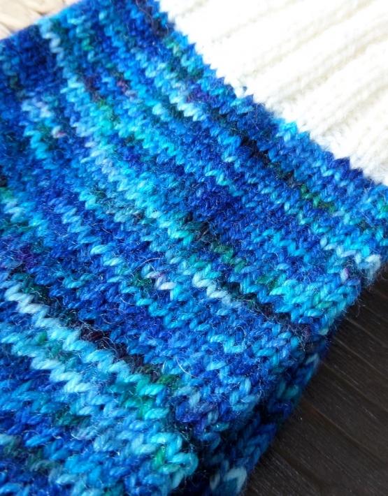 Hand knitting socks S-02 - nosochki 61 555x710