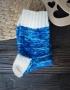 Hand knitting socks S-02 - nosochki 62 70x90