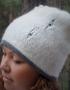 Alpaca hat - tkanye sharfy 386 70x90
