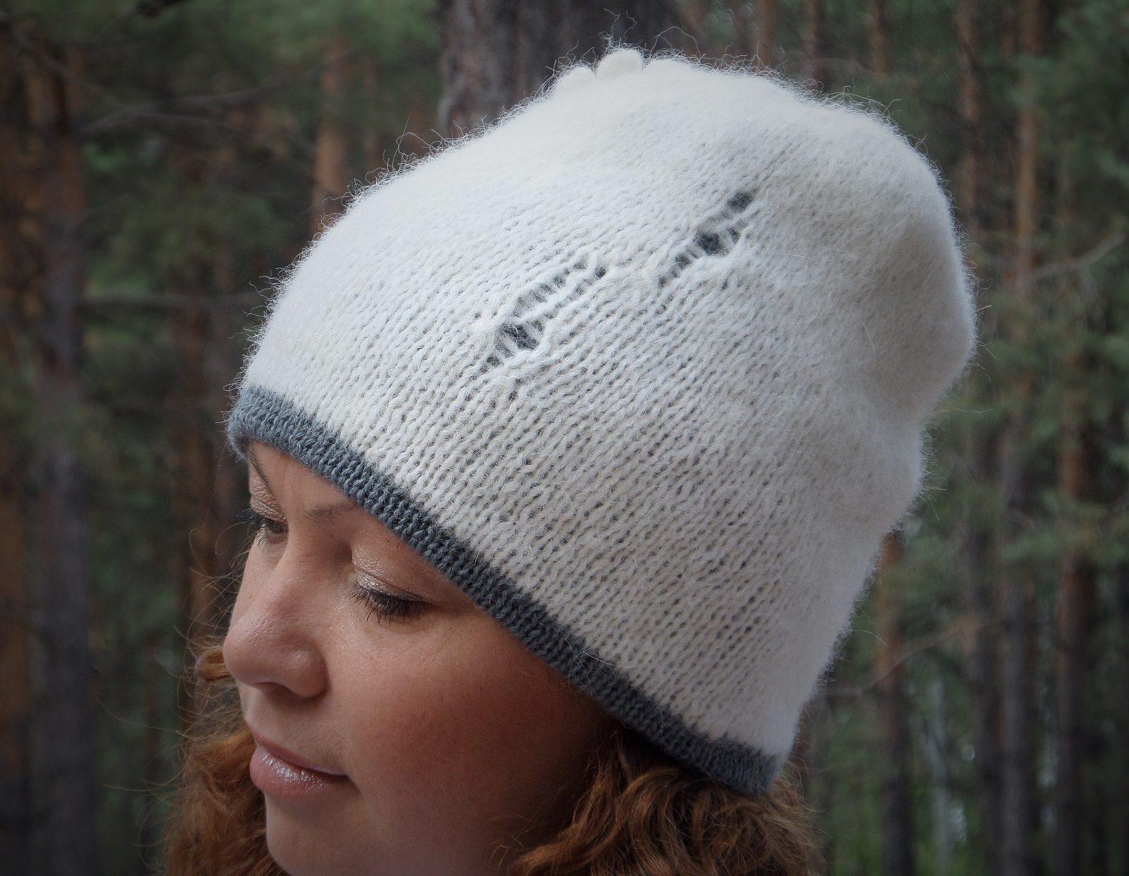 Alpaca hat - tkanye sharfy 386